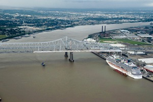 Mississippi river in New Orleans. Photo: Jiri Prusa