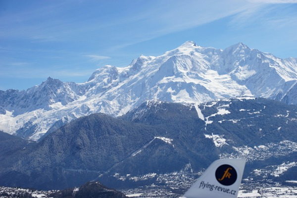 You can fly around Mont Blanc
